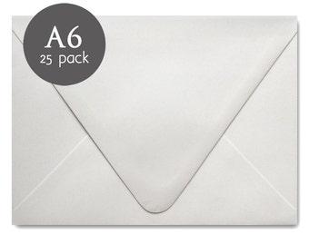 Wedding Envelopes 25 Pack White Envelopes A7 5x7