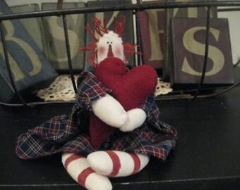 Raggedy Ann Doll - Raggedy Ann With Heart - Raggedy Ann
