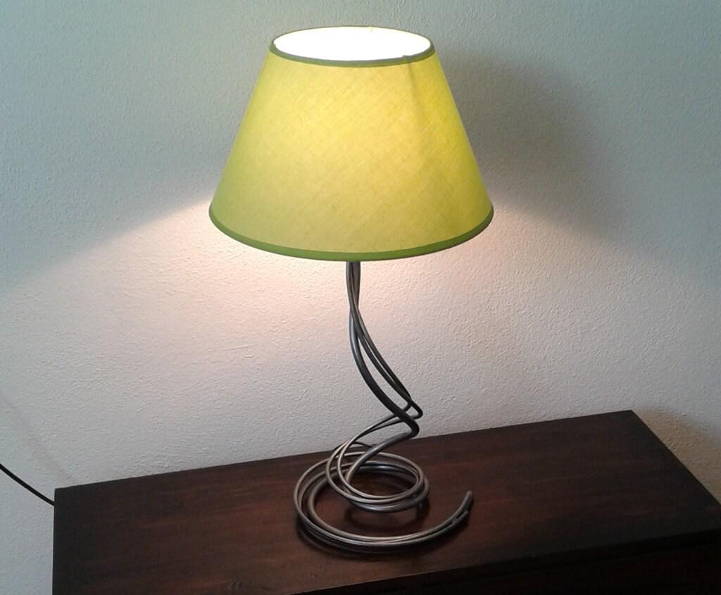 Bedroom Bedside Lamp Wrought Iron Desk Lamp Handmade Home