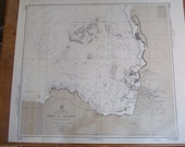Port Au Prince - Republic of Haiti - Hispaniola, West Coast - West Indies - Nautical Chart, 1744