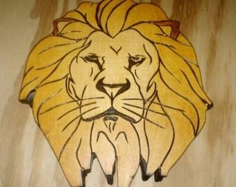 Custom lion box