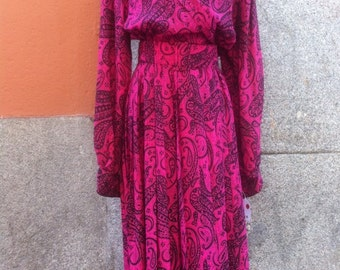 BOHEMIAN DRESS 70's