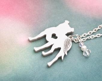 Pitbull Jewelry, Pitbull Necklace, pitbull