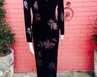 Vintage 1980s evening dress Haute couture