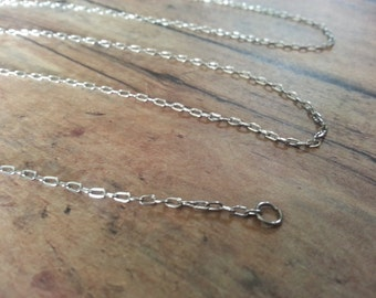 "3 Pack of Stainless Steel Oval Link Chain Necklace - 18"" or 24"" Length"