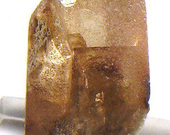 Gemmy Sherry-colored Topaz crystal, Mexico - Mineral Specimen for Sale