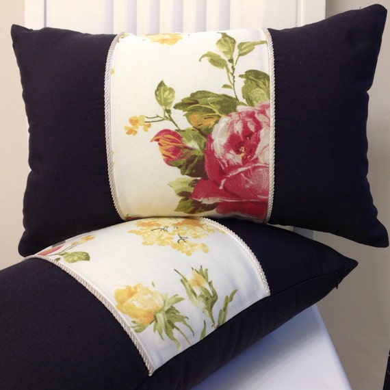 the flower patch farmgirl pillow