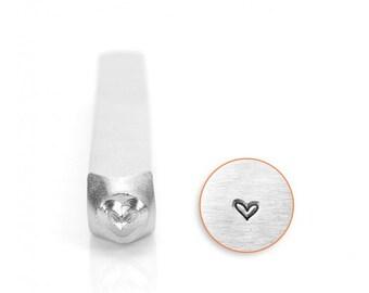 ImpressArt ® Whimsy Heart 3mm Design Stamp