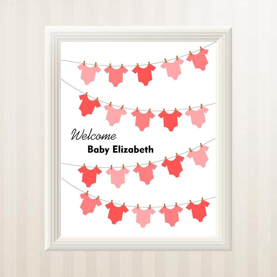 baby shower guest book alternative onesie by babystarfishdesigns