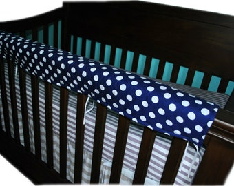 Custom Crib Bedding Made to Order Crib Rail Cover Nursery Bedding