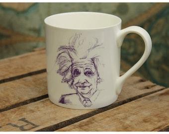 Albert Einstein Mug with Quote