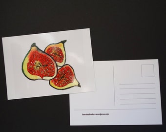 Postcards figs