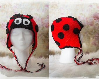 Lady Bug Beanie