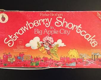 Sweet Vintage Strawberry Shortcake Board Game