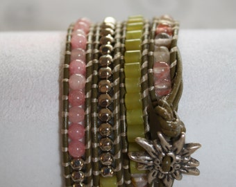 Wrap Bracelets - Hand Crafted