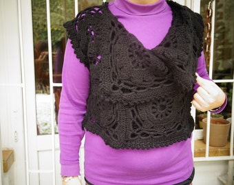crochet cardigan by Neşe
