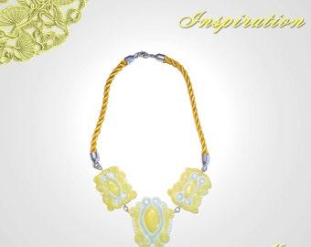 "Necklace ""Summer Sunshine"""