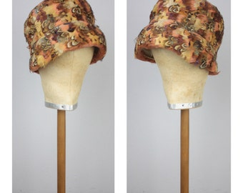 Avery - Antique 1920's Cloche Hat