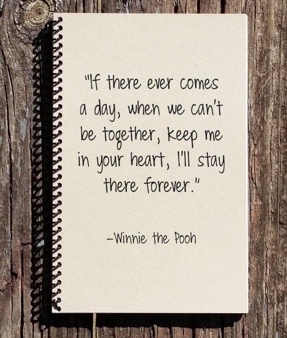 Wedding Memory Book Ideas: Winnie The Pooh Journal Winnie The Pooh Notebook Winnie