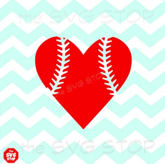 Items Similar To Baseball Heart Design Svg And Studio