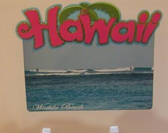 Surf's Up off Waikiki Beach, Oahu, Hawaii