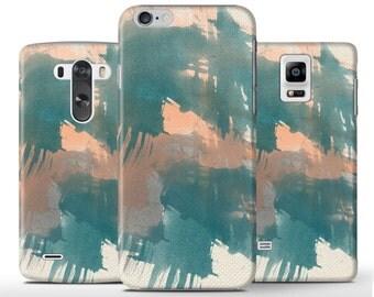Pastel Drawing Art Green Orange Hard Case Cover Apple iPhone 5 5s 5c 6 Plus Samsung Galaxy s4 S6 s5 Note 3 4 Sony Xperia Z Z3 Z1 Z2 Lg G3