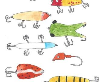 Fishing Lures: Vintage