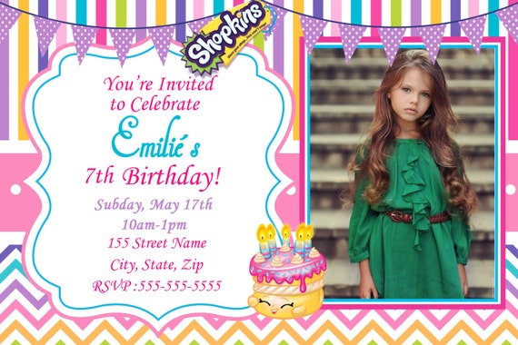7Th Birthday Invitation Card Printable for amazing invitation sample