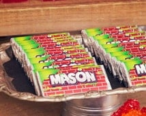 Trash Pack Party experience with our customised chocolate wrappers.