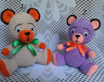 Amigurumi. Crochet Teddy, toy bear, gift bear, gift, personalized toy,amigurumi toys.