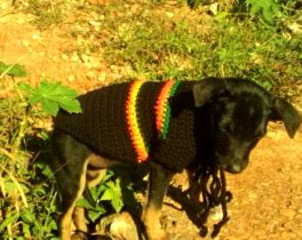 Irie Crochet dog sweater
