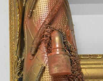 Steampunk forearm bracelet  - Mechanical arm