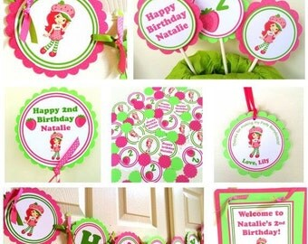 Strawberry Shortcake Party Package