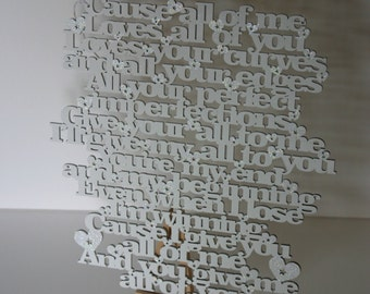 Beautiful wooden lyrics