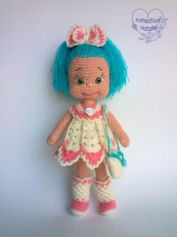 Amigurumi crochet dolls Sweet girl doll in by ...