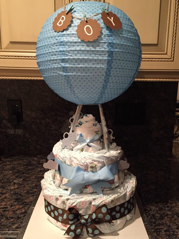 Hot Air Balloon Diaper Cake Ideas