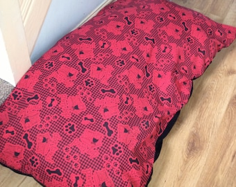 Dog Bed,Dog Beds,Pet Bed,Dogbed,Dogbeds,Petbed,Petbeds,  faux leather base