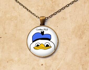 Dolan pendant Gooby jewelry Meme necklace