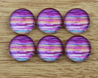 10 pcs 12mm Handmade photo glass cabochon cabs-565-5