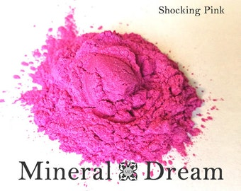 Mineral Eyeshadow Shocking Pink 100% Natural