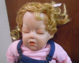 Reserved DO not PURCHASE Unknown maker large 28 inches tall vinyl doll