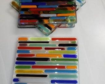 Fused Glass Coasters