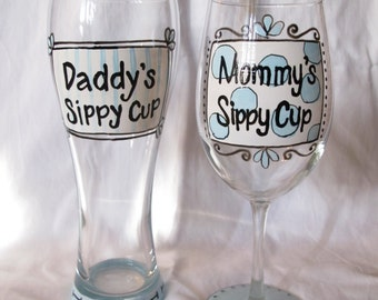 Mommy & Daddy's Sippy Cups