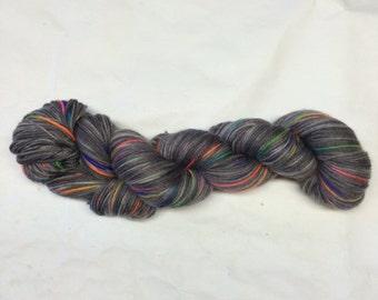 Hand Dyed Sock Yarn - Senior Phairy Hair