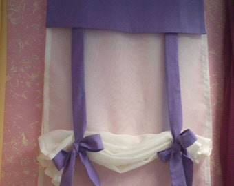 Packaged Curtain with bows