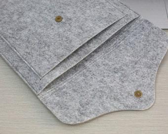 Front Pocket Felt iPad Mini Case , iPad Mini , Felt iPad Mini Sleeve , Felt iPad Mini Cover ,  iPad Mini Retina #203