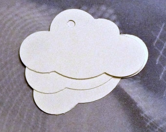 50 cloud tags clothing hang tags blank tags price tags merchandise tags gift tags name tags business labels etsy seller supplies product tag
