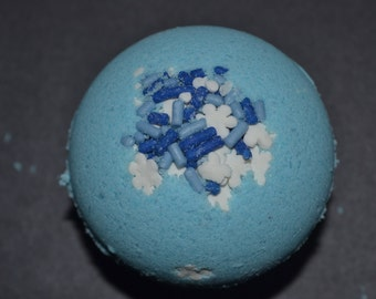 Set of 4 -  Blueberry Bath Bomb