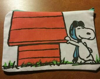 Peanuts Basic Zipper Bag