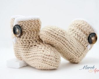Infant Crochet Booties